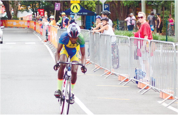 Cyclists savour Commonwealth  Games experience
