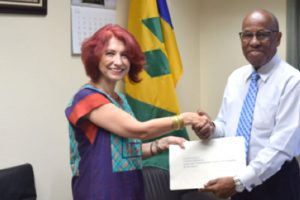 Three new  Ambassadors present  credentials to SVG