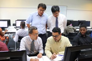 Taiwan ICT experts visit SVG
