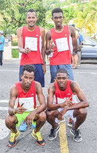 SVGS stands alone in Round D Town road relay
