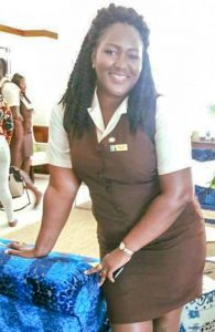 Young mother empowers  herself through education