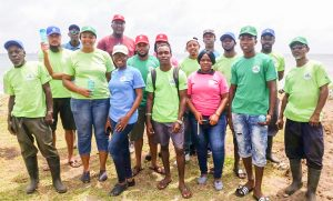 Over 280   mangrove trees planted at Canash Beach and Great Head Bay