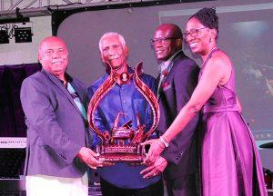 SVG honours veteran musician
