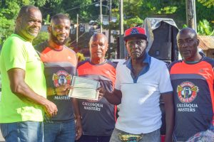 Calliaqua groups honour sponsors and residents on  Independence Day