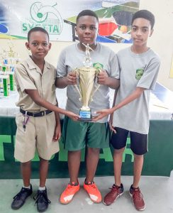 SVGS, GHS, take lion's share of table tennis titles