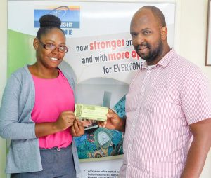 Searchlight rewards visitors to Everything Vincy Expo