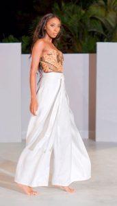 Vincentian designer turns heads at Barbados Fashion Week