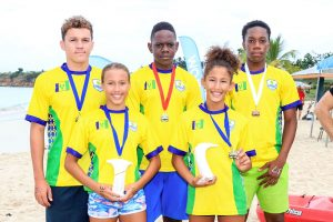 SVG bags sixty-six medals at OECS Swimming championships