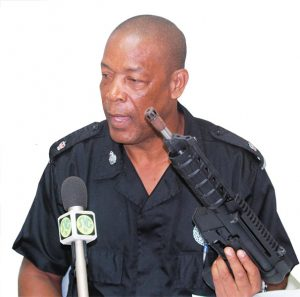 Police net guns, ammunition, mask and fake cash